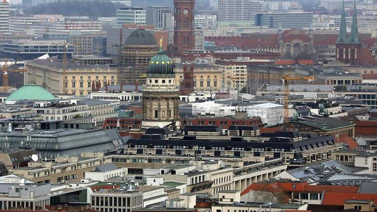 Blick auf die Stadt Berlin. Foto: Wolfgang Kumm/Archivbild