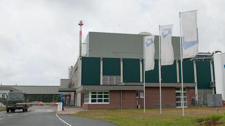 Das Firmengebäude der GEKA in Munster. Foto: Philipp Schulze/Archiv