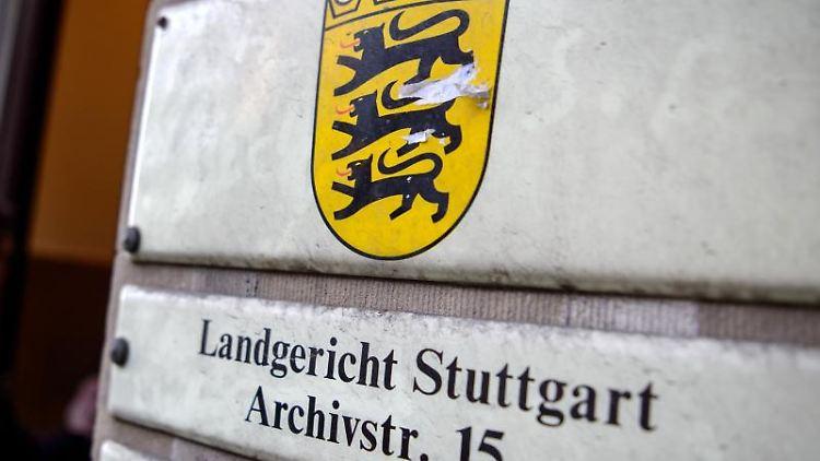 Das Landgericht in Stuttgart. Foto: Sina Schuldt/Archivbild