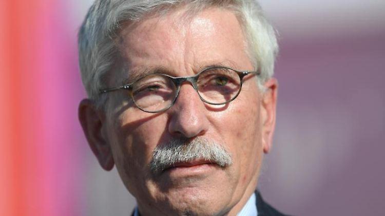 Thilo Sarrazin (SPD), umstrittener Autor und früherer Finanzsenator von Berlin.Foto:Arne Dedert/Archivbild