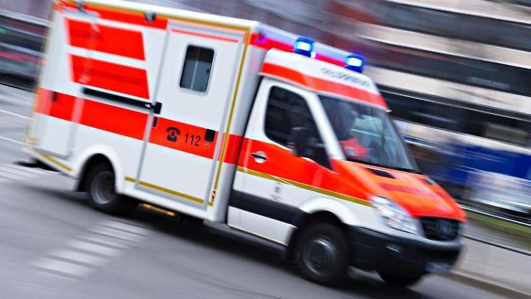Drei Verletzte bei Verkehrsunfall in Ribnitz-Damgarten. Foto: Nicolas Armer/Archivbild