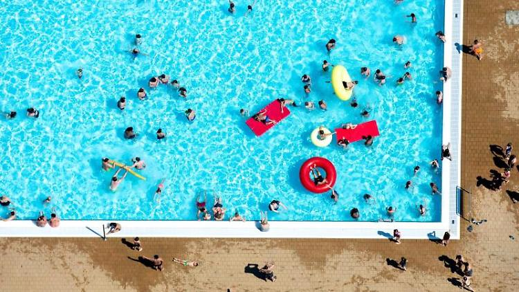 Bundesverband deutscher Schwimmbäder beklagt Aggressivität. Foto: Hauke-Christian Dittrich