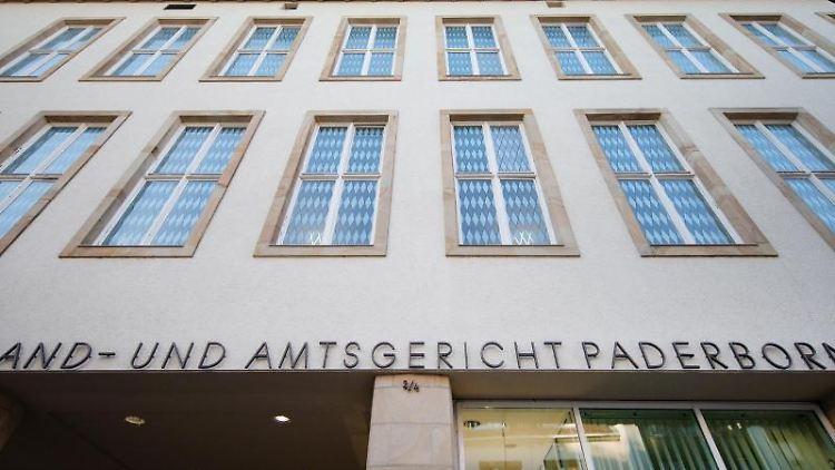 Das Landgericht in Paderborn. Foto: Friso Gentsch/Archivbild