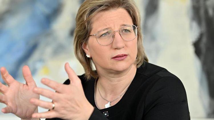 Anke Rehlinger (SPD). Foto: Harald Tittel/Archivbild