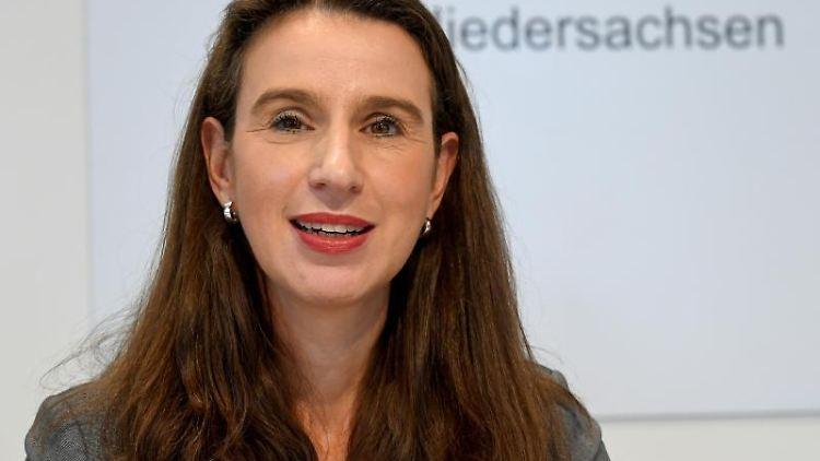 Sandra von Klaeden, Präsidentin des Niedersächsischen Landesrechnungshofes. Foto: Holger Hollemann/Archivbild