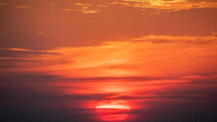 Sonnenaufgang. Foto: Kay Nietfeld