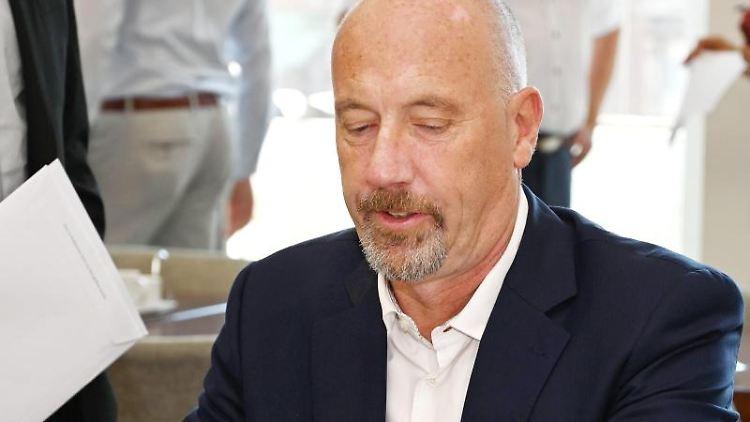 Carsten Meyer-Heder, Spitzenkandidat der Landtagswahl in Bremen. Foto: Carmen Jaspersen/Archivbild