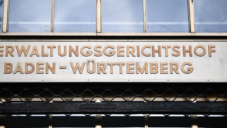Der Verwaltungsgerichtshof in Mannheim. Foto: Uwe Anspach/Archivbild