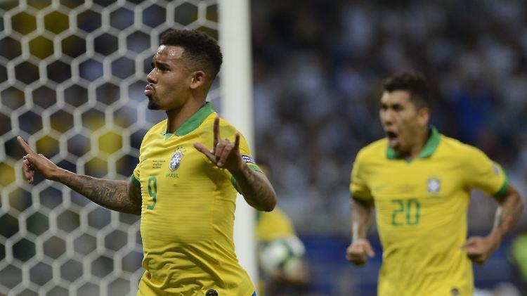 Argentinien Verpasst Finaleinzug Brasilien Zerstort Messis