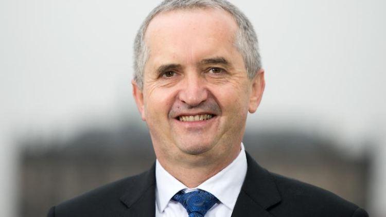 Sachsens Umweltminister Thomas Schmidt. Foto: Arno Burgi/Archivbild