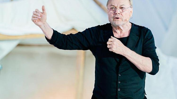 Schauspieler Klaus Maria Brandauer. Foto: Uwe Anspach/Archivbild