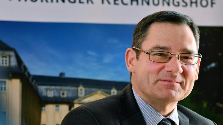 Rechnungshofpräsident Sebastian Dette. Foto: Martin Schutt/Archivbild