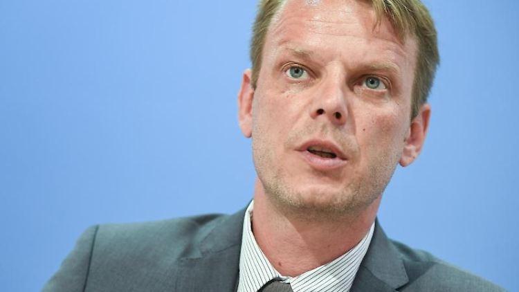 Nikolaus Kramer, Fraktionschef der AfD im Landtag von Mecklenburg-Vorpommern. Foto: Britta Pedersen/Archivbild