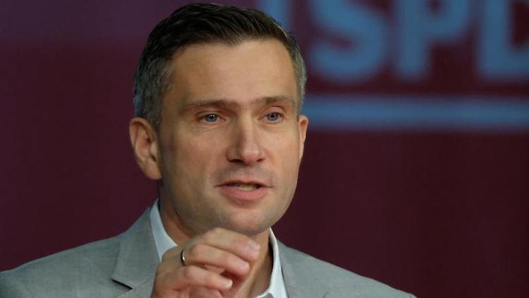 Martin Dulig, SPD-Landesvorsitzender, Wirtschaftsminister und stellvertretender Ministerpräsident von Sachsen. Foto: Sebastian Willnow/Archiv