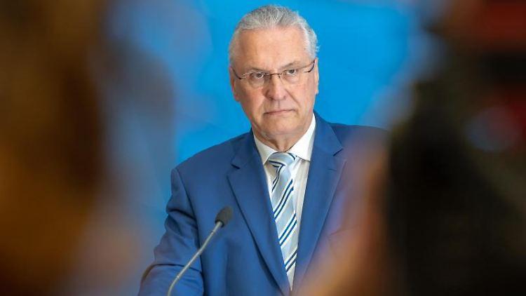 Joachim Herrmann (CSU), Innenminister von Bayern.Foto:Peter Kneffel/Archivbild
