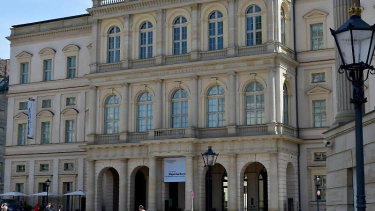 Außenansicht des Museums Barberini in Potsdam.Foto:Bernd Settnik/Archivbild