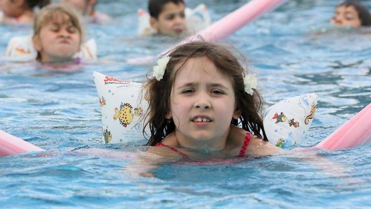 Schwimmunterricht Grundschule Bayern