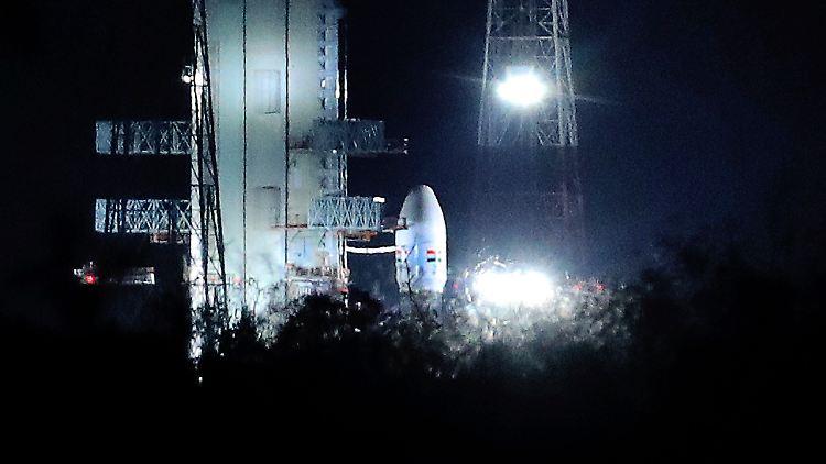 Indien schickt eine Rakete zum Mond