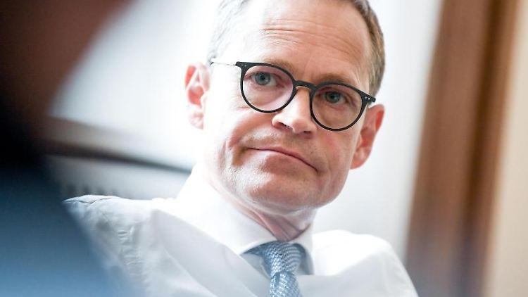 Michael Müller (SPD), Berlins Regierender Bürgermeister. Foto: Britta Pedersen/Archiv