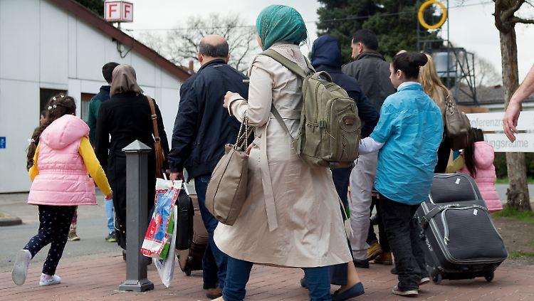 Sechs Prozent mehr Schutzsuchende in Deutschland