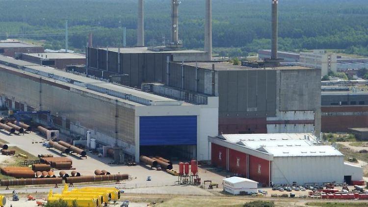 Das stillgelegtes Kernkraftwerk Greifswald-Lubmin. Foto: Stefan Sauer/Archivbild
