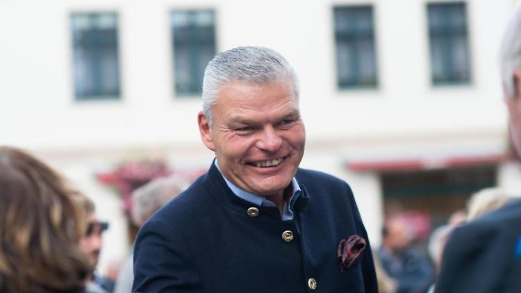 Holger Stahlknecht (CDU), Innenminister des Landes Sachsen-Anhalt.Foto: Klaus-Dietmar Gabbert/Archivbild