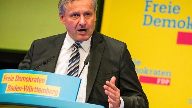 Hans-Ulrich Rülke (FDP). Foto: Christoph Schmidt/Archivbild