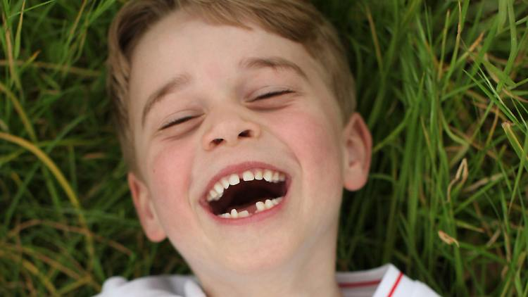 Prinz George feiert 6. Geburtstag