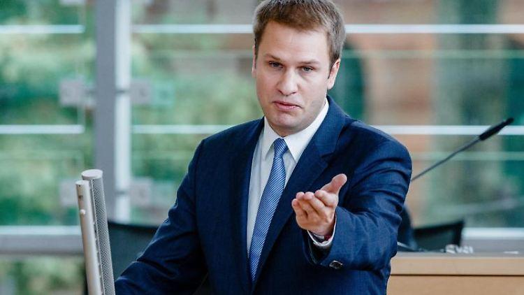 Der FDP-Abgeordnete im Landtag, Christopher Vogt. Foto:Markus Scholz/Archiv