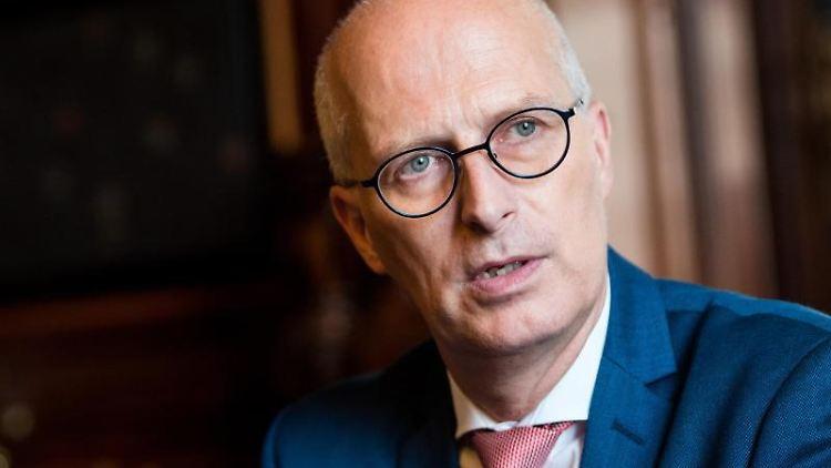 Hamburgs Erster Bürgermeister Peter Tschentscher (SPD). Foto: Daniel Bockwoldt