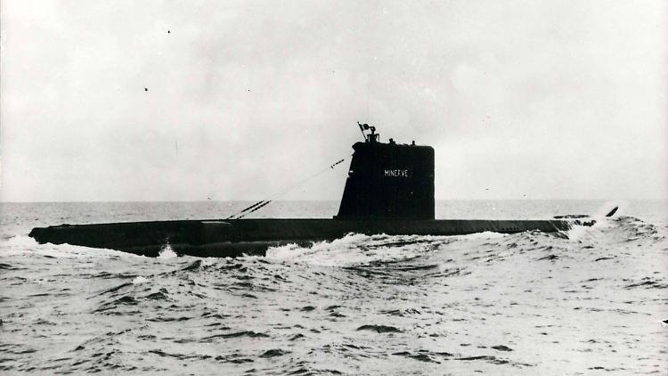 ''La Minerve'': U-Boot über 50 Jahre nach Verschwinden gefunden