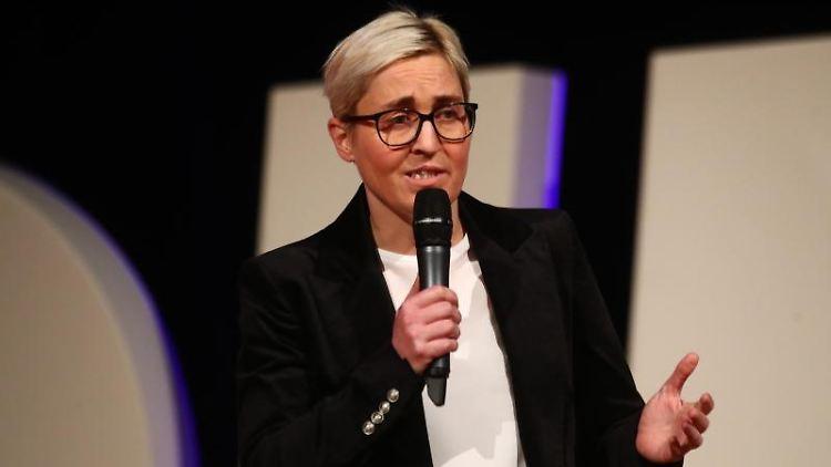 Linke-Politikerin Susanne Hennig-Wellsow. Foto: Bodo Schackow/Archivbild