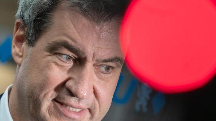 Markus Söder (CSU), CSU-Parteivorsitzender und Ministerpräsident von Bayern. Foto: Peter Kneffel/Archiv