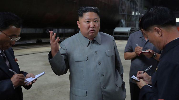 Pjöngjang demonstriert Stärke: Nordkorea nennt jüngsten Waffentest eine Warnung an Südkorea
