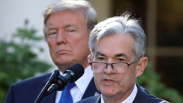 Trump kritisiert Zinssenkung der US-Notenbank als unzureichend