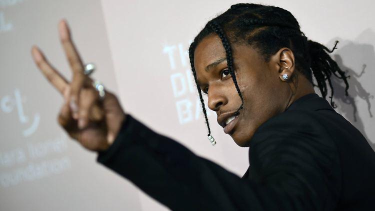 Fall A$AP Rocky - Weißes Haus schickt Experten für Geiselnahmen