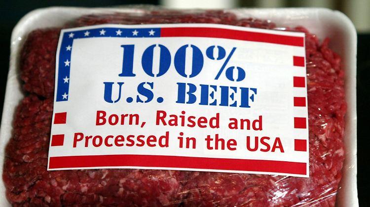 Handelsabkommen besiegelt:Europäer sollen mehr US-Rindfleisch essen