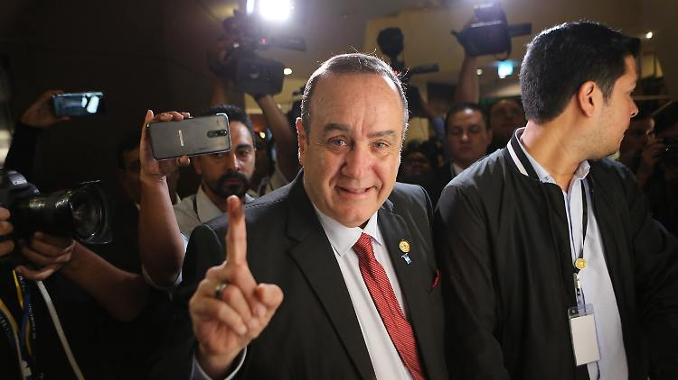 Guatemala: Konservativer Giammattei wird neuer Präsident