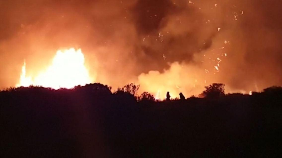 Waldbrand gran canaria 2020 karte