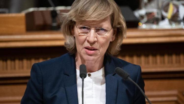 Dorothee Stapelfeldt (SPD), Senatorin für Stadtentwicklung von Hamburg. Foto: Daniel Reinhardt/Archivbild