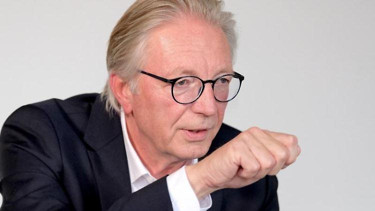 Roger Kehle, Präsident des Gemeindetages Baden-Württemberg. Foto: Bernd Weissbrod/Archivbild