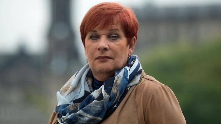 Die GEW-Landesvorsitzende Ursula-Marlen Kruse. Foto: Arno Burgi/Archiv