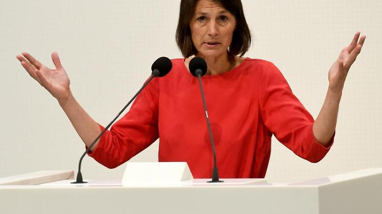 Miriam Staudte (Bündnis90/Die Grünen), stellvertretende Fraktionsvorsitzende im niedersächsischen Landtag. Foto: Holger Hollemann/Archivbild