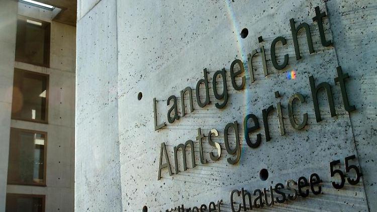 Das Gebäude des Land- und Amtsgerichtes in Frankfurt (Oder). Foto: Patrick Pleul/Archivbilder