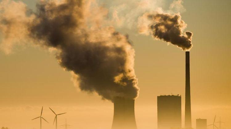 Ein Kohlekraftwerk.Foto: Julian Stratenschulte/Archivbild