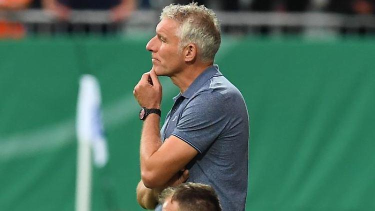 Mirko Slomka, der Trainer von Hannover 96.Foto:UliDeck/Archivbild
