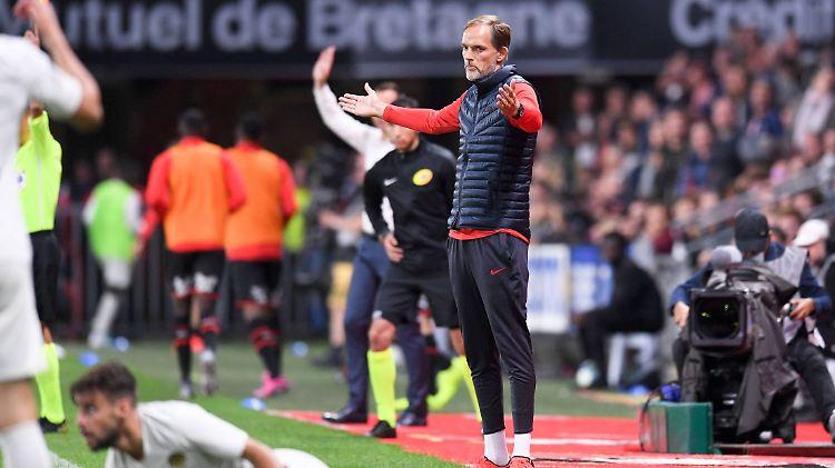 Schwierige Zeiten für Thomas Tuchel (45). Nach der ersten Saison-Niederlage gegen Stade Rennes wird über seine Zukunft als Trainer bei Paris Saint-Germain spekuliert.