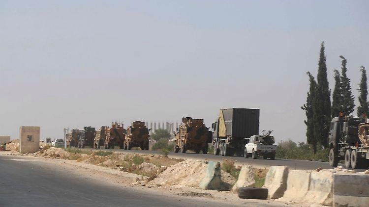 Syrien - Luftangriff auf türkischen Militärkonvoi