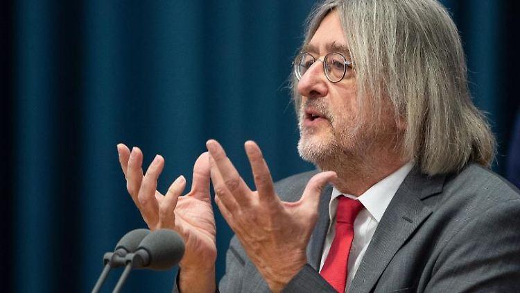 Bernhard Braun, Fraktionsvorsitzender von Bündnis 90/Die Grünen in Rheinland-Pfalz.Foto: Silas Stein/Archivbild