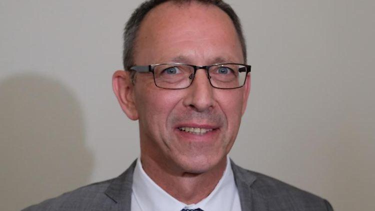 Jörg Urban, Landesvorsitzender der sächsischen AfD.Foto:SebastianWillnow/Archivbild